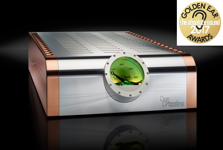 dan dagostono momentum m 400 awarded Golden Ear Award from The Absolute Sound